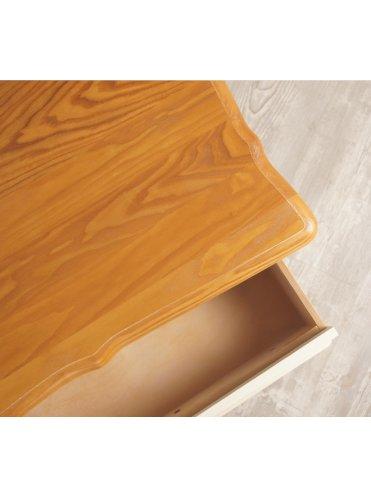 Леонтин квадратный журнальный стол с двумя ящиками