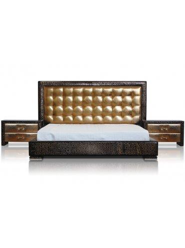 Карлос Кожаная Кровать