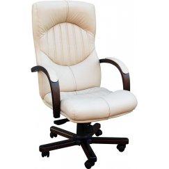 Кремовое Офисное Кресло TM-0001