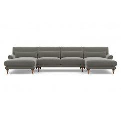 Максвелл П-образный Тканевый диван