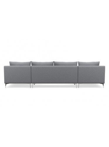 Слим П-образный Тканевый диван