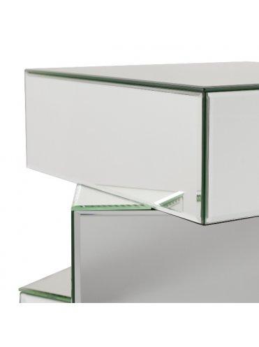 Бизерс Зеркальный Кофейный Столик