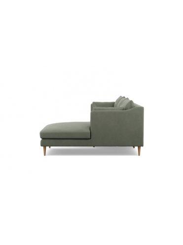 Катлин Угловой Кожаный диван