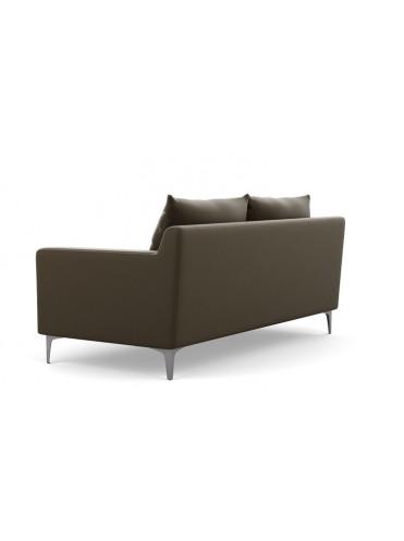 Слим Прямой Кожаный диван