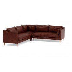 Катлин Большой Кожаный диван