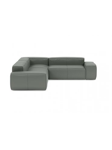Грэй Большой Кожаный диван
