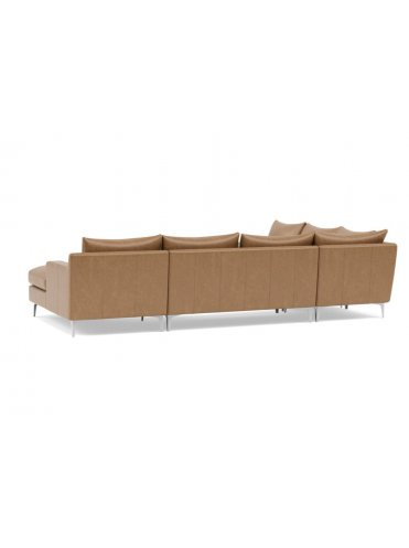 Слим Многосекционный Кожаный диван