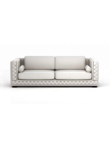 Франческо Кожаный диван в Стиле Неоклассик