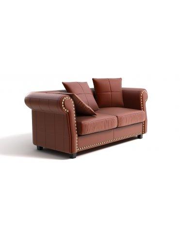 София Кожаный диван в Классическом Стиле