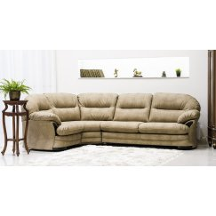 Лестер Угловой Кожаный диван