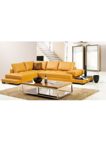 Манилла Угловой Кожаный диван