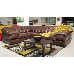 Ричард Угловой Кожаный диван