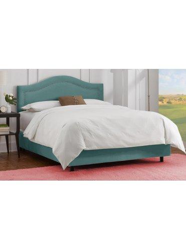 Вельвет Тканевая Кровать