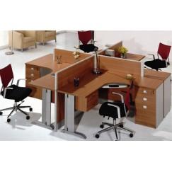 Офисный комплект OK-0001 - 4 работника
