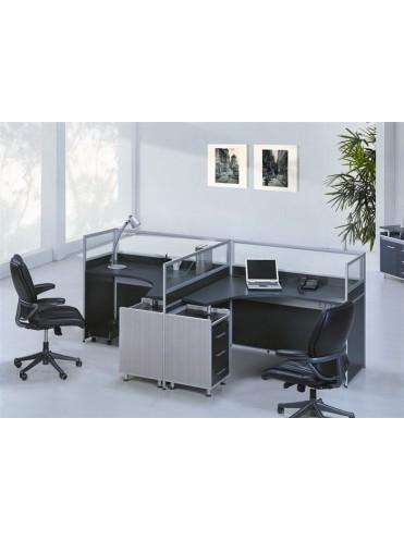Офисный комплект OK-0002 - 2 работника