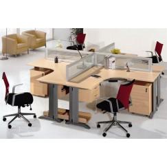 Офисный комплект OK-0004 - 4 работника