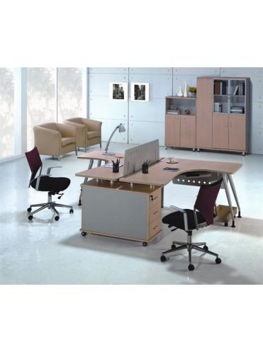 Офисный комплект OK-0007 - 2 работника