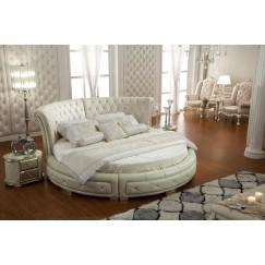 Лавено круглая Кровать в Стиле Арт-Деко