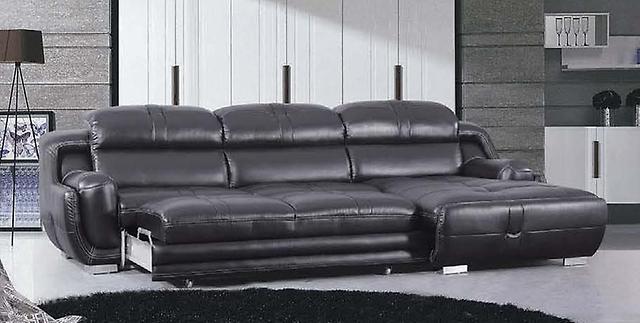 диван кровать из кожи