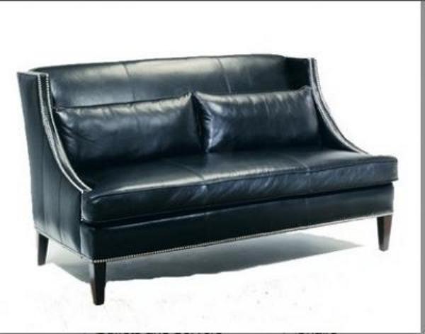 Купить кожаный раскладной диван для кабинета