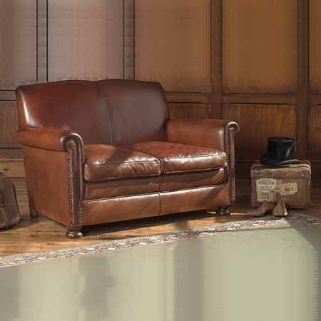 маленький кожаный диван