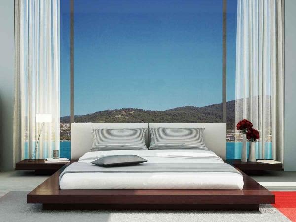 Недорогие кожаные кровати